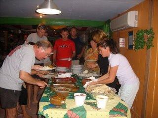 Indian Food Night at Pedros Inn