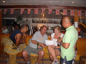Trivia Quiz at Pedro's Inn San Pedro Belize